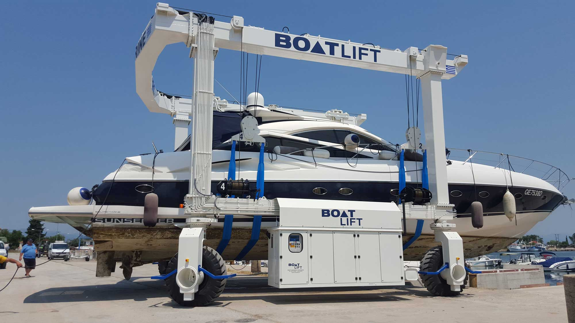 Why You Should Choose A Travel Lift For Your Marina U S
