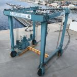 Used 40 Metric-Ton Travel Lift, Low Working Hours