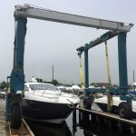 1996 25-Ton Travel Lift for Sale, Low Hours, $115K